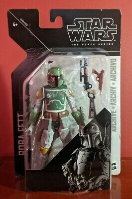 Star Wars The Black Series Archive Boba Fett 6-Inch Action Figure Damaged