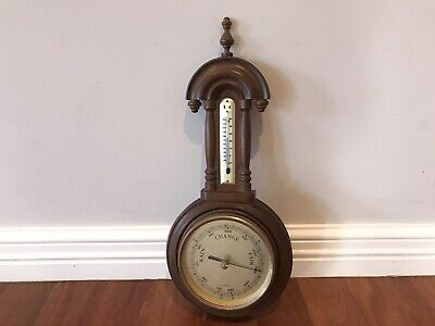Vintage Collectable Barometer Thermometer Germany Maritime