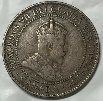 1908 Canadian Large Cent Circulated