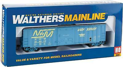 HO Scale Walthers 910-1800 50/' ACF Exterior Post Boxcar Boston /& Maine 3241