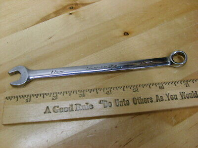 Snap On Flank Drive Plus Combination Wrench Metric 11MM No. SOEXM11