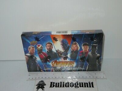 New Sealed Marvel Avengers Infinity War Upper Deck Collector Cards Hobby Box