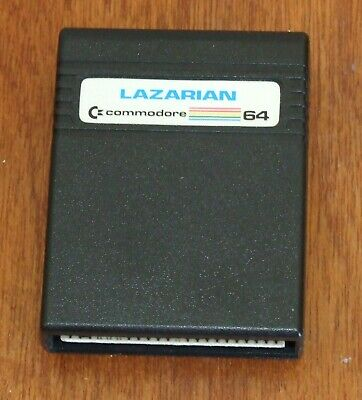 Commodore 64 game cartridge: Lazarian