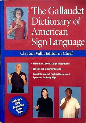 The GALLAUDET DICTIONARY of AMERICAN SIGN LANGUAGE+CD