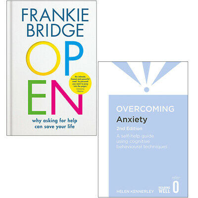 OPEN Why asking for help, Overcoming Anxiety 2 Books Collection Set NEW