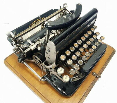 Antigua maquina escribir IMPERIAL 1921 rare ANTIQUE typewriter Schreibmaschine