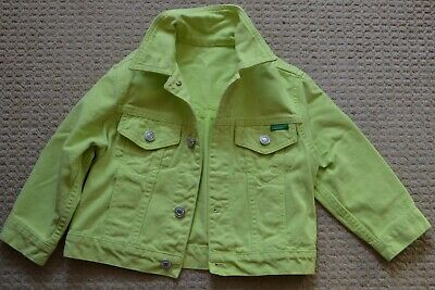 United Colors Of Benetton Girls Jacket.size Uk-Xs(Approx.)3-5Years