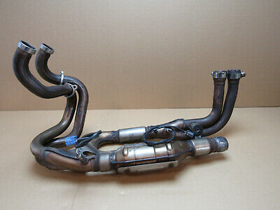 Honda VFR1200F 2014 19,646 miles exhaust manifold downpipes (3076)