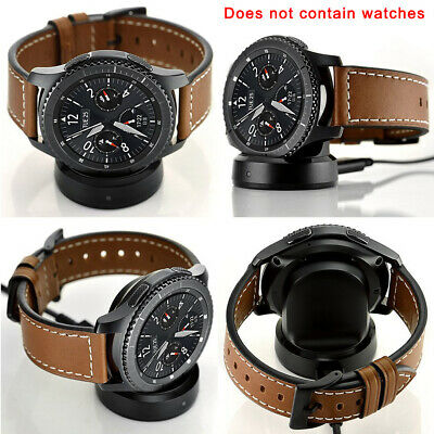 Travel Wireless USB Cable Dock Smart Watch Gear S3 Charger Classic for Samsung