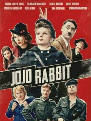 Jojo Rabbit (DVD 2019 2020) NEW USA SELLER