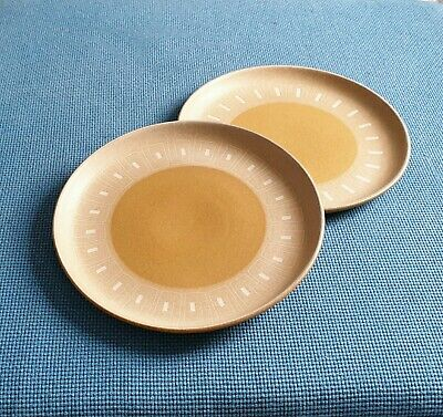 "Denby *Ode*  Two 10.1"" Dinner Plates  #Excellent Condition #"