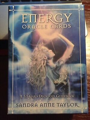 Original Energy Oracle Cards By Sandra Anne Taylor A 53 Card Deck And Guidebook