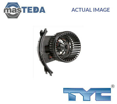 Tyc Interior Blower Fan Motor Lhd Only 537-0009 G New Oe Replacement