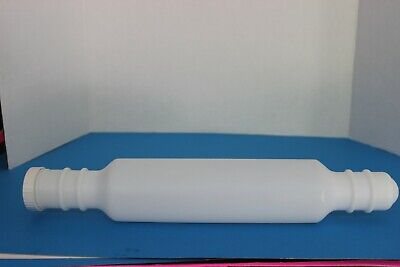 Tupperware Large Rolling Pin Fill Cold Water = No Stick Dough Blue /& White New