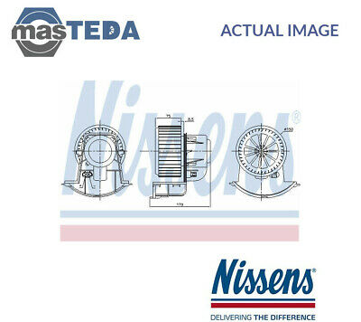 Nissens Interior Blower Fan Motor Lhd Only 87271 G New Oe Replacement