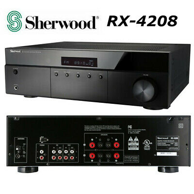 Sherwood RX-4208 200W AM FM Stereo Receiver Home Theater 2 Channel