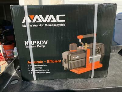 NAVAC Vacuum Pump 8 CFM [BRAND NEW IN BOX] [Model: NRP8DV]