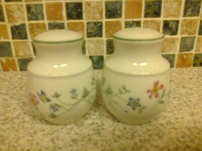 Royal Doulton Expressions Florentina Salt & Pepper Pots With Bungs