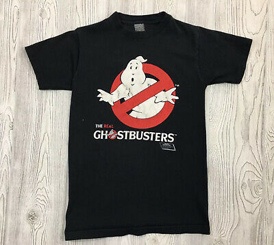 Vintage The Real Ghostbusters 1986 Kids Size Large Promo T-Shirt