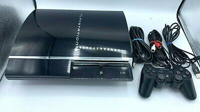 Sony PlayStation 3 80GB Console System (CECH-E01), New Thermal Paste, Works, PS3
