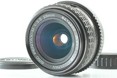 【 NEAR MINT++ 】smc Pentax-M 28mm f/3.5  Wide Angle Prime MF Lens from Japan #297