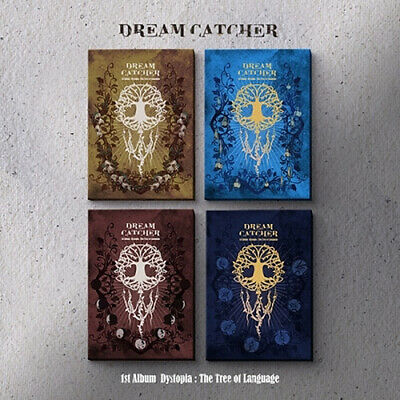 DREAMCATCHER DYSTOPIA:THE TREE OF LANGUAGE 1st Album 4 Ver SET+POSTER+Book+Card