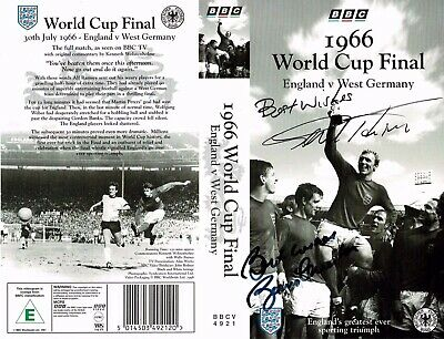 World Cup 1966 Cover signed by Geoff Hurst & Bobby Charlton