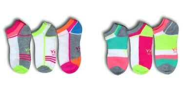 Women Ladies Girls Cotton Rich Ankle Trainer Sports Gym Socks 3 pairs UK2.5-7.5