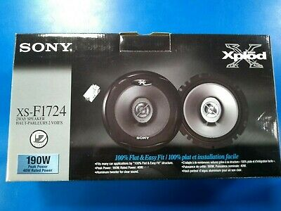 sony xs-f1724 speaker price rating