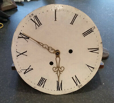 Swedish Mora Clock mechanism and face - not tested