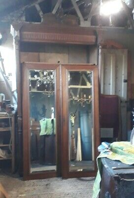 impressive antique French armoire