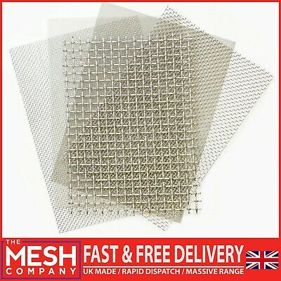 The Mesh Company's Stainless Steel Woven Wire Range - Huge Range - Top Prices