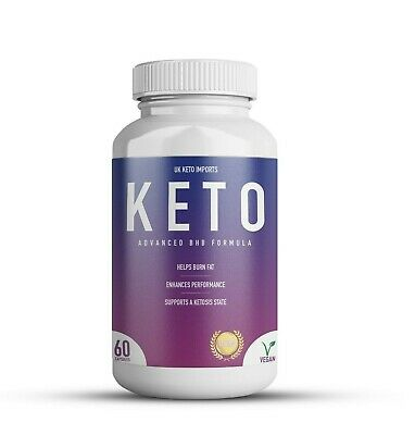 Keto Diet Fat Burner Pills BHB Weight Loss Formula Premium 1200mg 60 Capsules