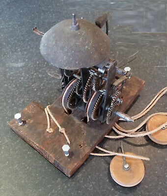 Swedish Mora Clock mechanism - not tested