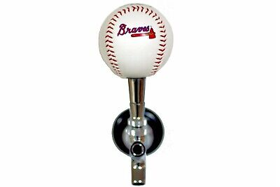 Atlanta Braves Licensed Baseball Beer Tap Handle