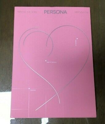 BTS 6th mini Album MAP OF THE SOUL:PERSONA Boy with Luv Ver.2 + JIn Photo