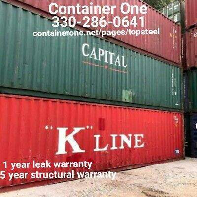 20 And 40 Steel Conex / Storage / Shipping Containers In Boston MA