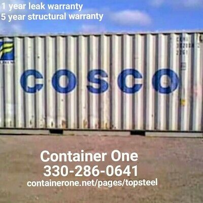 20 And 40 Conex Storage Shipping Containers In El Paso