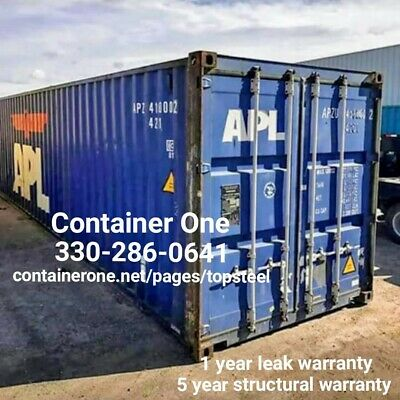20 And 40 Conex Storage Shipping Containers Indianapolis