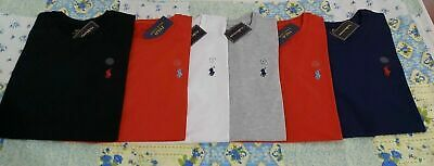 Men's Ralph Lauren Crew Neck Short Sleeve Cotton Casual T-shirt Free P&P