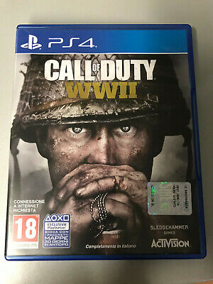 Sony Playstation 4 Ps4 Call Of Duty Wwii Pal Italiano ☆