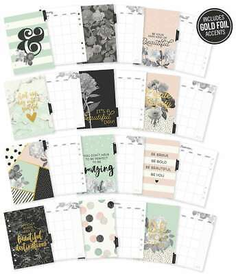 Carpe Diem Beautiful Double-Sided A5 Planner Inserts Monthly, Und 816502025010