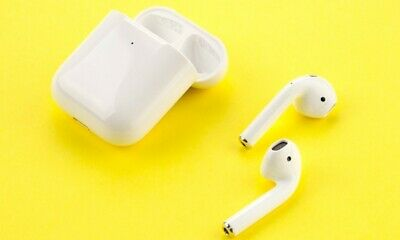 Wireless Bluetooth Headphones 2nd Generation With Charging Case-White
