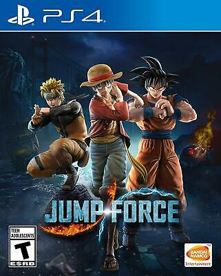 Jump Force - Standard Edition - Playstation 4 (PS4) - Brand New - Free Shipping