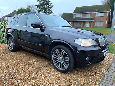 2012 Bmw X5 4.0 Xdrive M Sport Black Pan Roof Diesel Fsh High Spec Individual