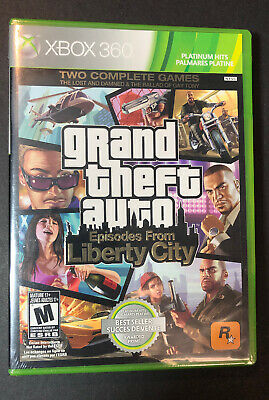 Grand Theft Auto [ Episodes From Liberty City ] (XBOX 360) NEW