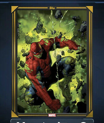 Topps Marvel Collect Comic Book Day Cover Gold Immortal Hulk #1 -DIGITAL CARD