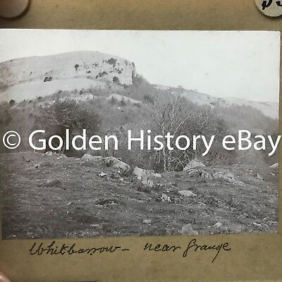 Antique Whitbarrow Grange Over Sands Real Photograph Slide Glass