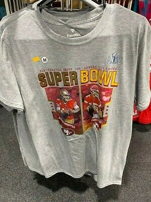Super Bowl LIV Official Licensed T Shirt New Patrick Mahomes Jimmy Garappolo NFL