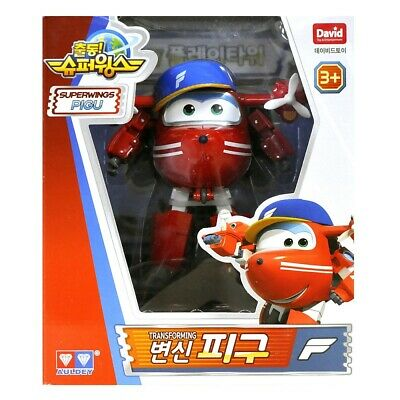 David Toy Super Wings Season2 Transforming Plane DOODOO Robot TV Animation